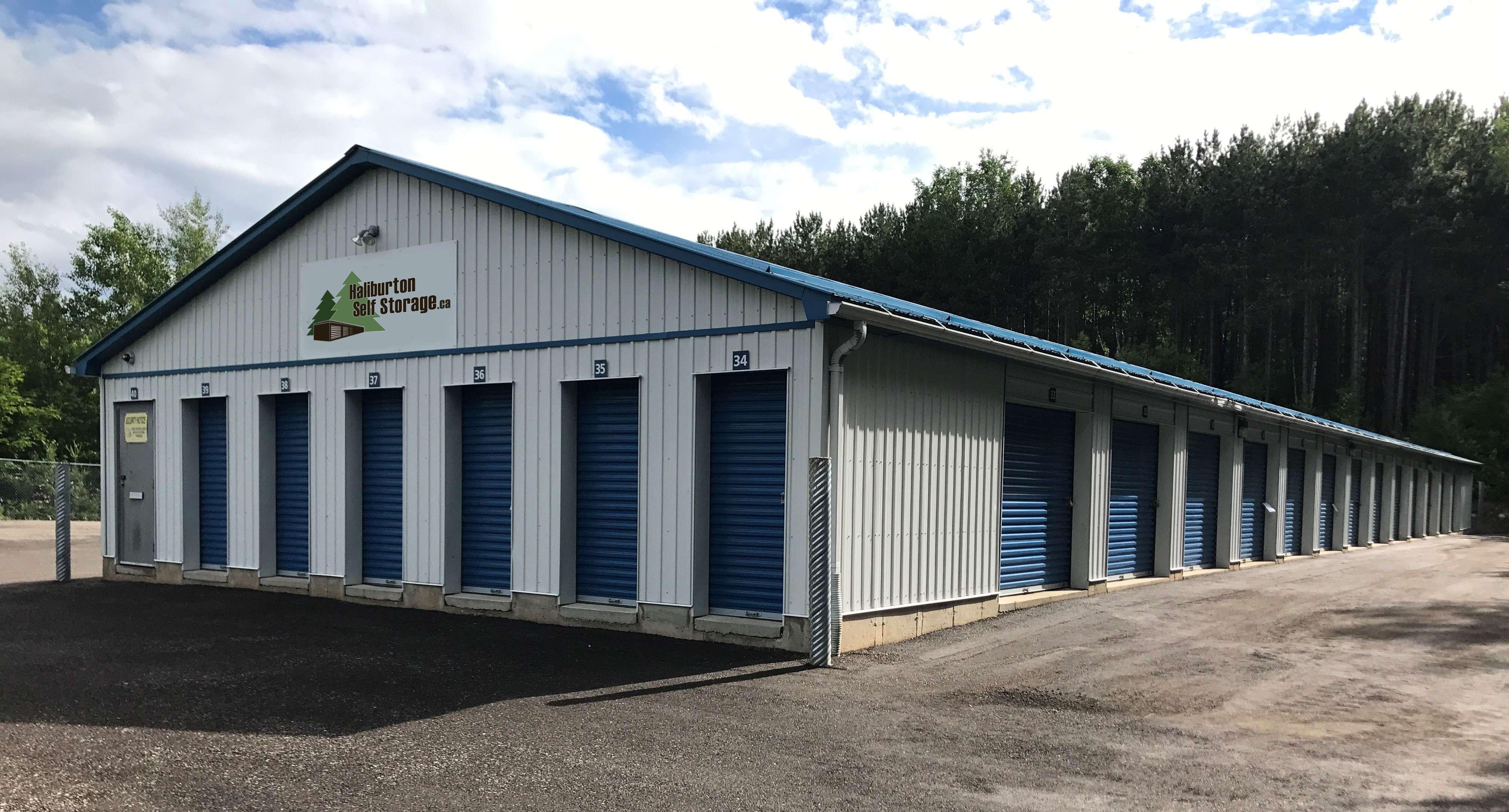 haliburton outdoor storage