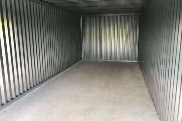Haliburton Self Storage Unit Interior