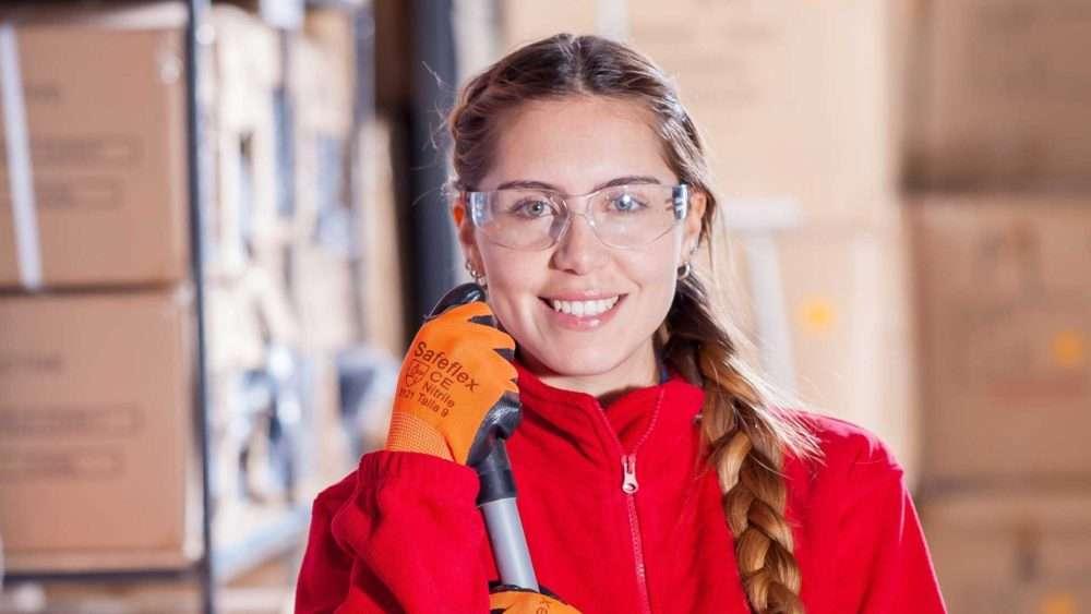 Mini Storage Maintenance - Woman Cleaning