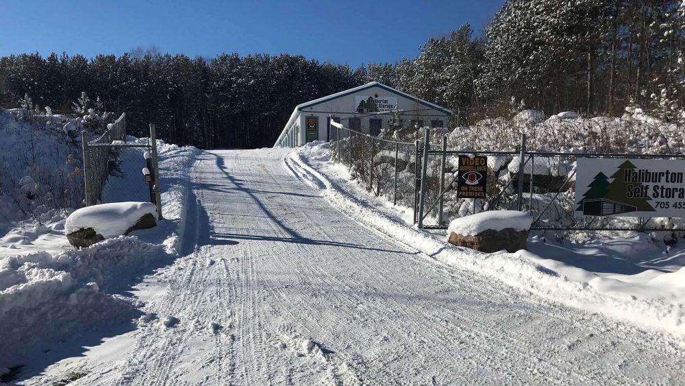 winter vehicle storage